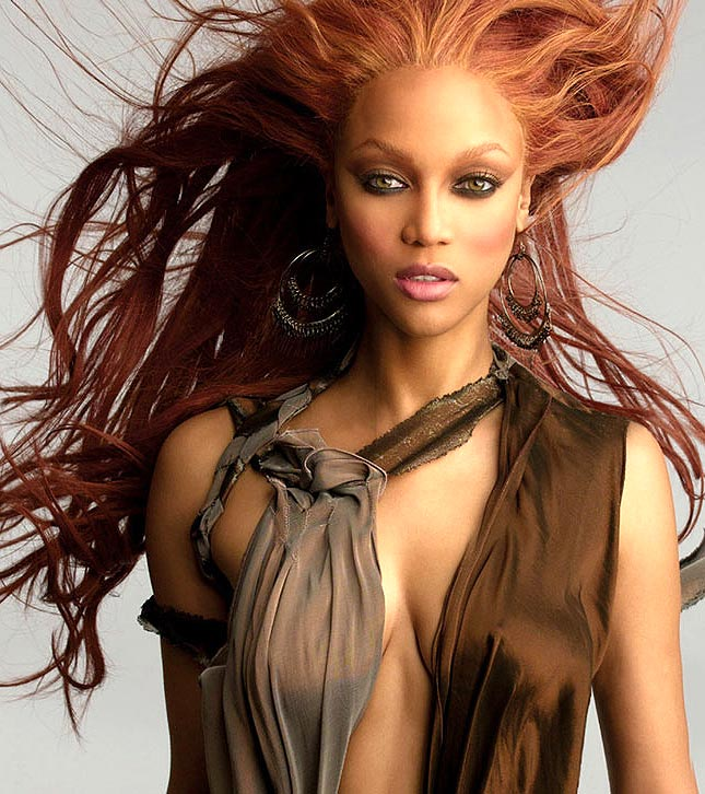 Sexy photo of Tyra Banks