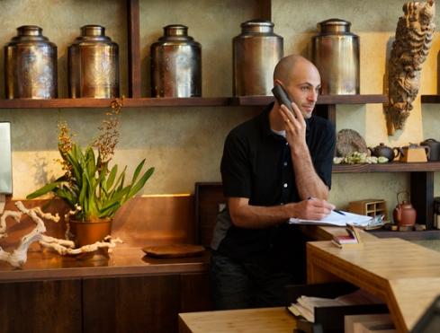 Jesse Jacobs, Founder Samovar Tea Lounge
