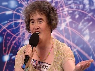 Contestant Susan Boyle on Britain's Got Talent Blew the Judges and Audience Away
