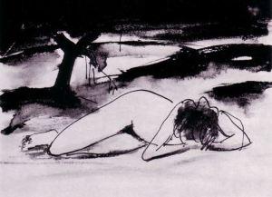 Opustena by Franz Kline (1910-1962)